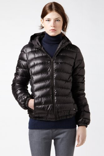 Lacoste Quilted Hooded Puffer Jacket