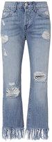 3x1 WM3 Mazzy Fringe Crop Jeans