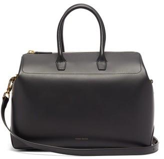 Mansur Gavriel Travel Medium Leather Bag - Womens - Black Multi