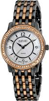 August Steiner Women's AS8027BKG Dazzling Diamond Bracelet Watch