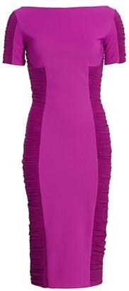 Chiara Boni Dary Illusion Sheath Dress