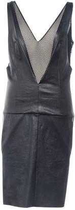 Jitrois Black Leather Dress for Women