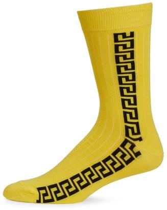 Versace Baroque Crew Socks