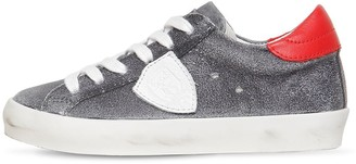Philippe Model Paris Suede Lace-Up Sneakers
