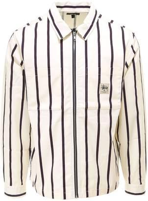 Stussy Zip-Up Work Shirt Jacket