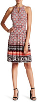 Maggy London Sleeveless Printed Dress