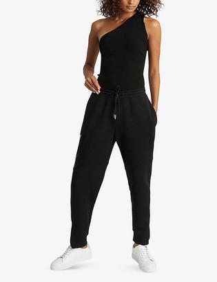 Reiss Angelina pocket-embellished stretch-jersey jogging bottoms