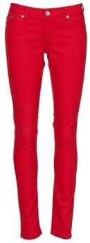 Element STICKER women's Trousers in Red