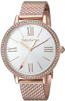 Juicy Couture Women's 'SOCIALITE' Quartz Gold Dress Watch(Model: 1901614)