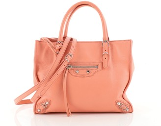 Balenciaga Papier A4 Classic Studs Bag Leather Mini
