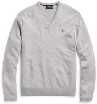 Ralph Lauren Merino Wool V-Neck Jumper