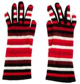 Sonia Rykiel Striped Knit Gloves