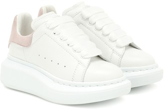 ALEXANDER MCQUEEN KIDS Leather sneakers