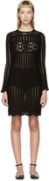 Etoile Isabel Marant Black Crocheted Hariett Dress