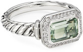 David Yurman Novella Stone Ring w/ Diamonds