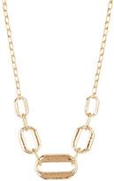 Judith Jack 10K Gold Plated Sterling Silver Swarovski Marcasite & Crystal Pave Link Necklace