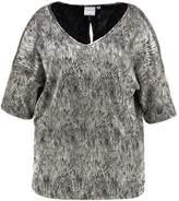 Junarose JRVANILLA BLOUSE Print Tshirt black beauty