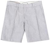 J. Lindeberg Nathan Pattern Shorts, Navy Stripe