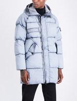 Stone Island Dust frost-print padded parka jacket