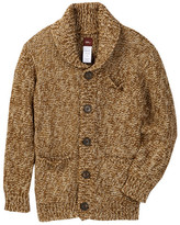 Tea Collection Chaco Shawl Collar Cardigan (Toddler & Little Boys)