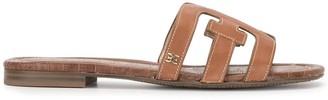 Sam Edelman Logo Cut-Out Sandals