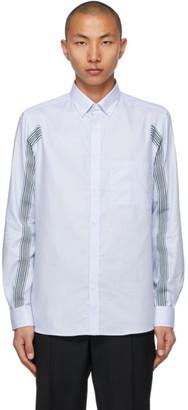 Burberry Blue Icon Stripe Slim Fit Shirt