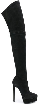 Casadei Over The Knee Stiletto Boots