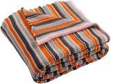 Safavieh Candy Stripe Knit Cotton Throw