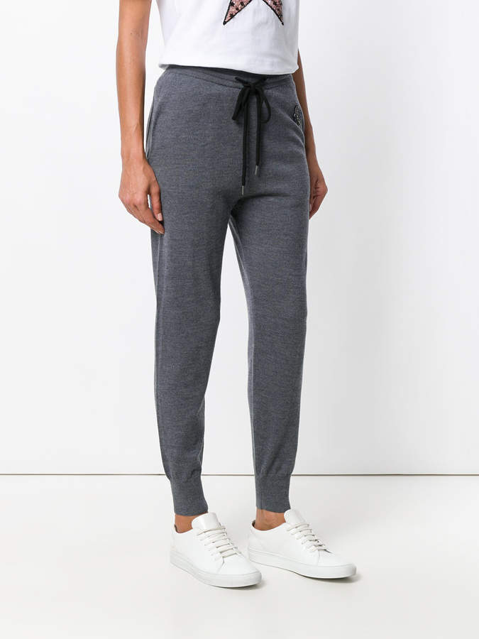 Markus Lupfer planet knitted track pants