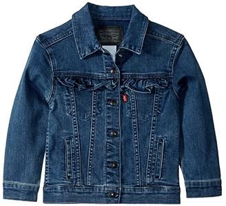 Levi's(r) Kids Denim Trucker Jacket (Little Kids) (Mel B) Girl's Jacket