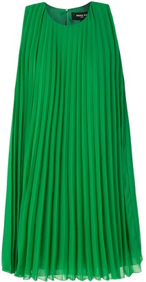 Paule Ka Pleated Shift Dress