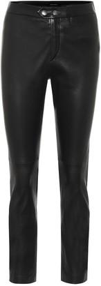 Isabel Marant Mofirae leather skinny pants
