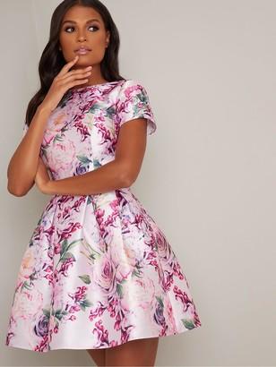 Chi Chi London Ashby Dress - Mink