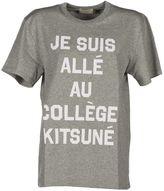 Kitsune Maison 'college' T-shirt