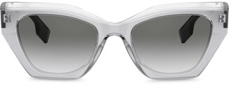 Burberry Eyewear Oversized-Frame Sunglasses