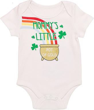 Baby Starters Infant Bodysuits White - White 'Mommy's Little Pot of Gold' Bodysuit - Infant