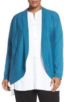 Eileen Fisher Merino Wool Cardigan (Plus Size)