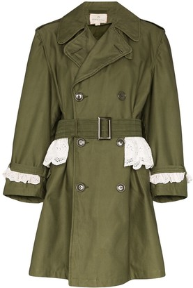 Rentrayage Weekend In Sandringham trench coat