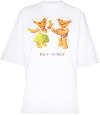 Palm Angels Dancing Bears oversized T-shirt