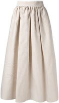Fendi striped skirt - women - Silk/Cotton - 40