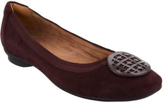 Clarks Artisan Leather Ballet Flats - Candra Blush