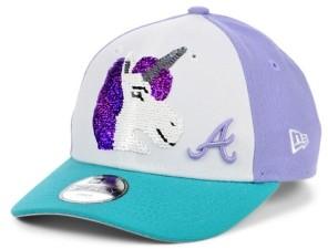 New Era Women's Atlanta Braves Unicorn Flip 9FORTY Cap