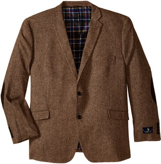 U.S. Polo Assn. Men's Big-Tall Wool Donegal Sport Coat