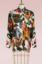 Paul & Joe Flower Tiger Scarf Shirt
