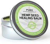 Best Eczema & Psoriasis Treatment Cream + FREE BONUS EBOOK - Organic Hemp Seed Healing Balm Soothes Eczema, Psoriasis, Rosacea, Dermatitis, Shingles and Rashes. Natural Formula Provides Instant and Lasting Relief For Severely Dry, Cracked, Itchy, or Irritated Skin - 2 fl. oz.