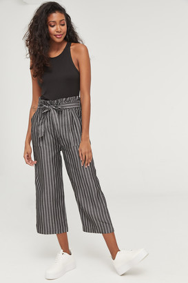Ardene High Paper Bag Waist Culottes