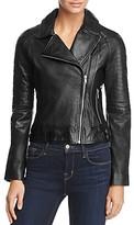 BB Dakota Stafford Leather Moto Jacket