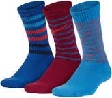 Nike Boys 3-Pack Performance Crew Socks