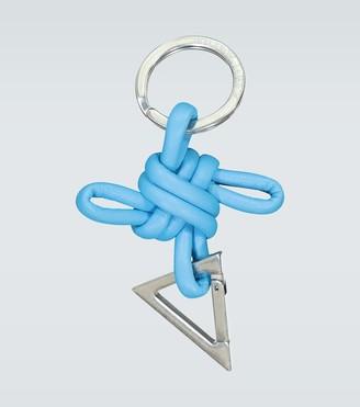 Bottega Veneta Knotted cord keychain