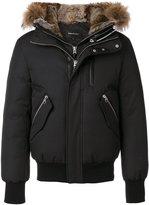 Mackage hooded bomber jacket